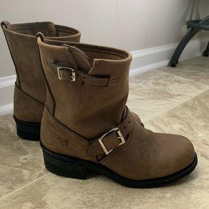 Frye Engineer 8R Boots Gaucho